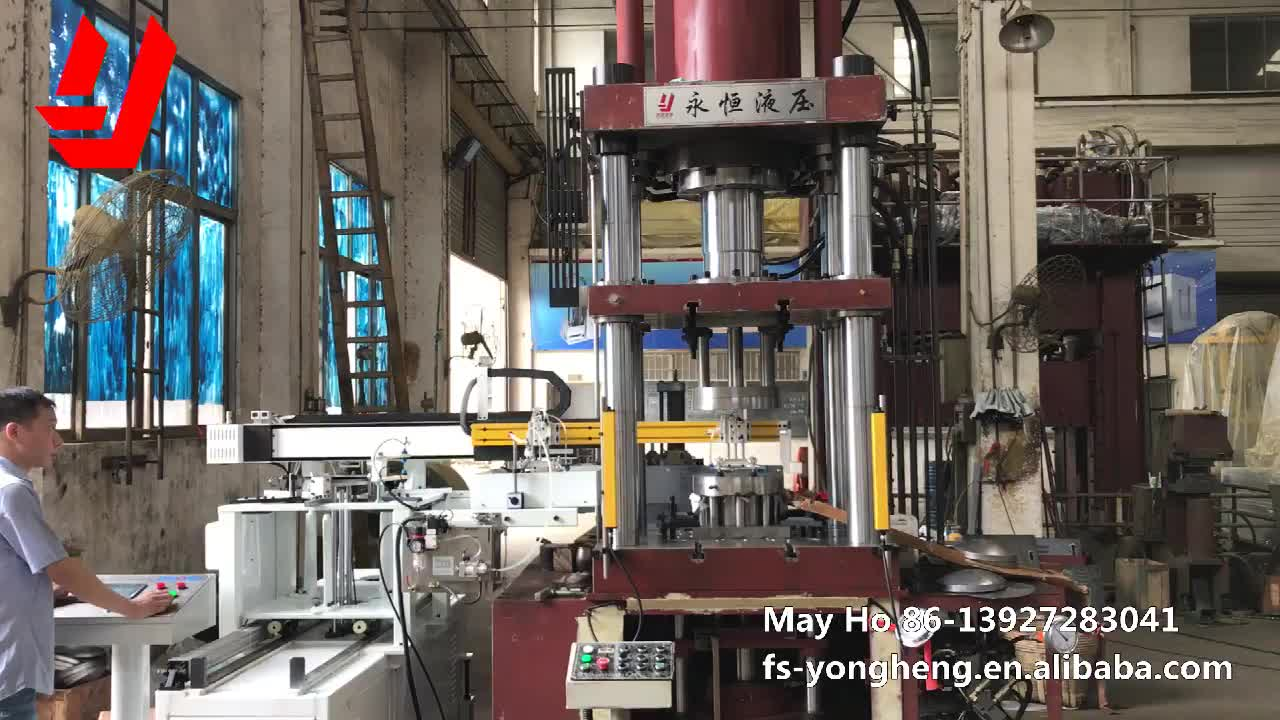 ISO Approval  Yongheng Hydraulic Servo Control High Speed Industrial Metal Processing Sheet Hydroforming Machine