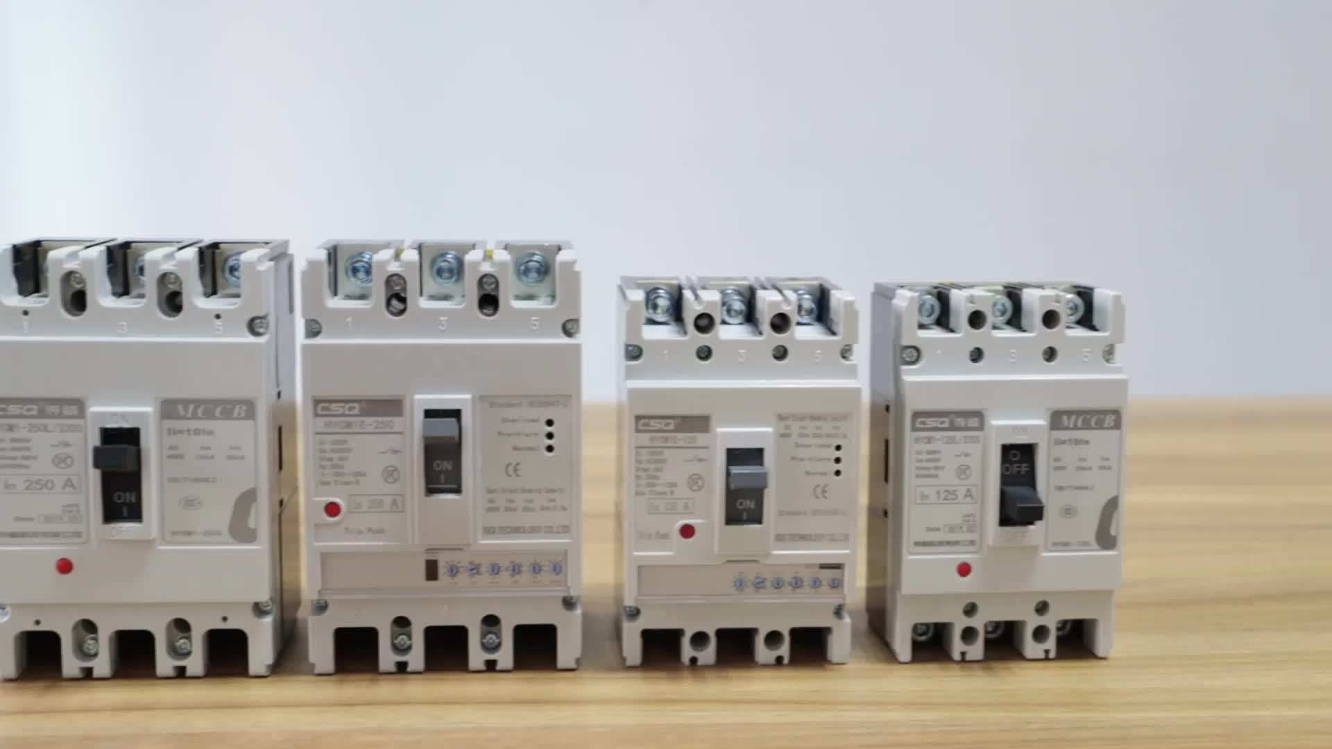 200 amp 250a 3p 4p circuit breaker MCCB molded case circuit breaker home use industrial type 3 phase mccb manufacturer
