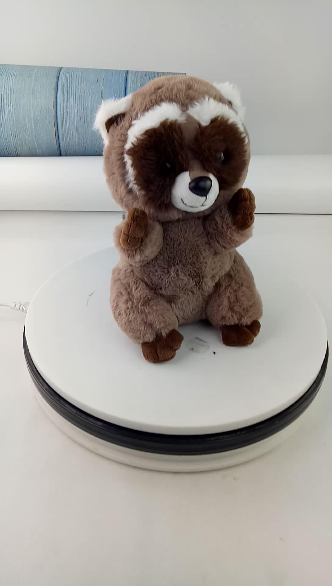 Amazon Custom Animal Gevulde Pluizige Eekhoorn Pluche Speelgoed