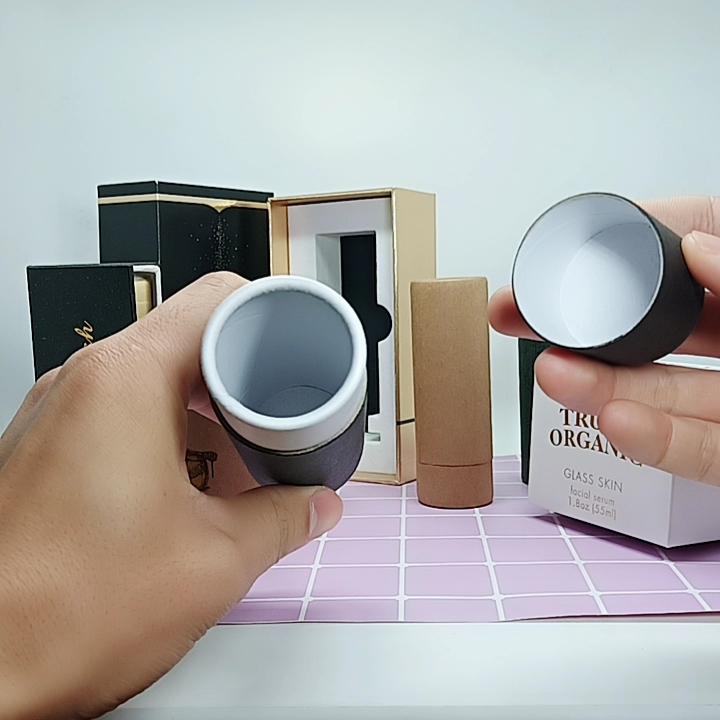 Hard cosmetische verpakking doos logo afdrukken witte geschenkdoos custom papier