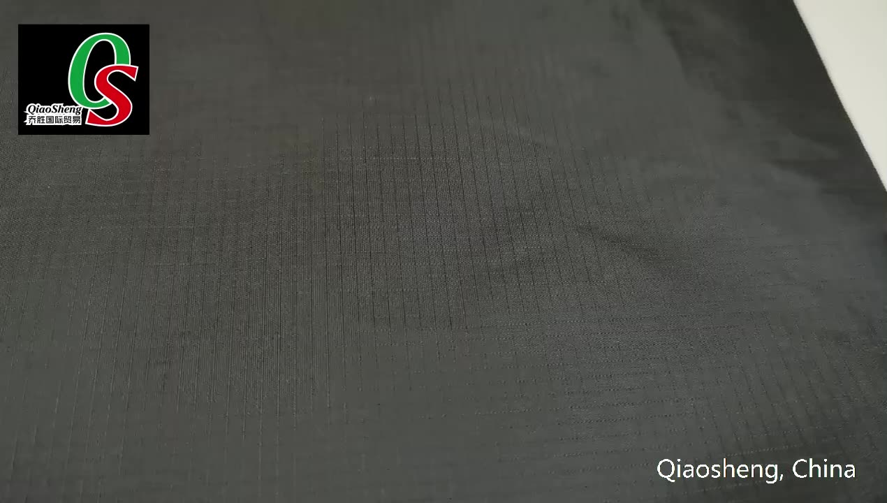 100%Polyester rib stop taffeta light weight fabric for lining of garment and bags