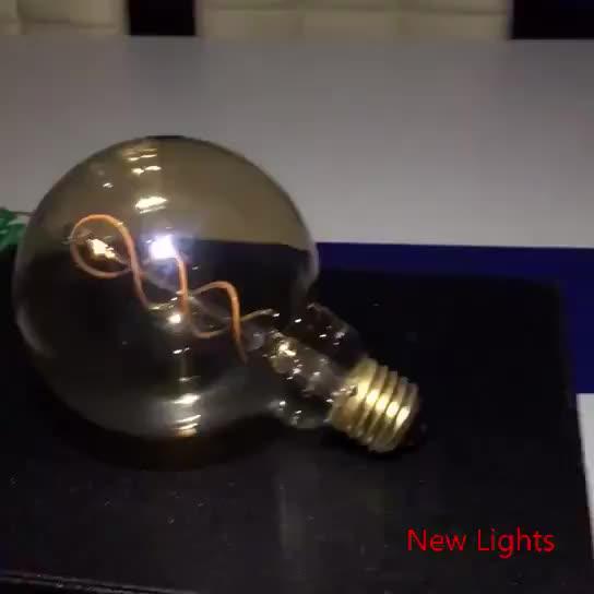 bağbozumu edison yumuşak filament ampul sarmal led ışık