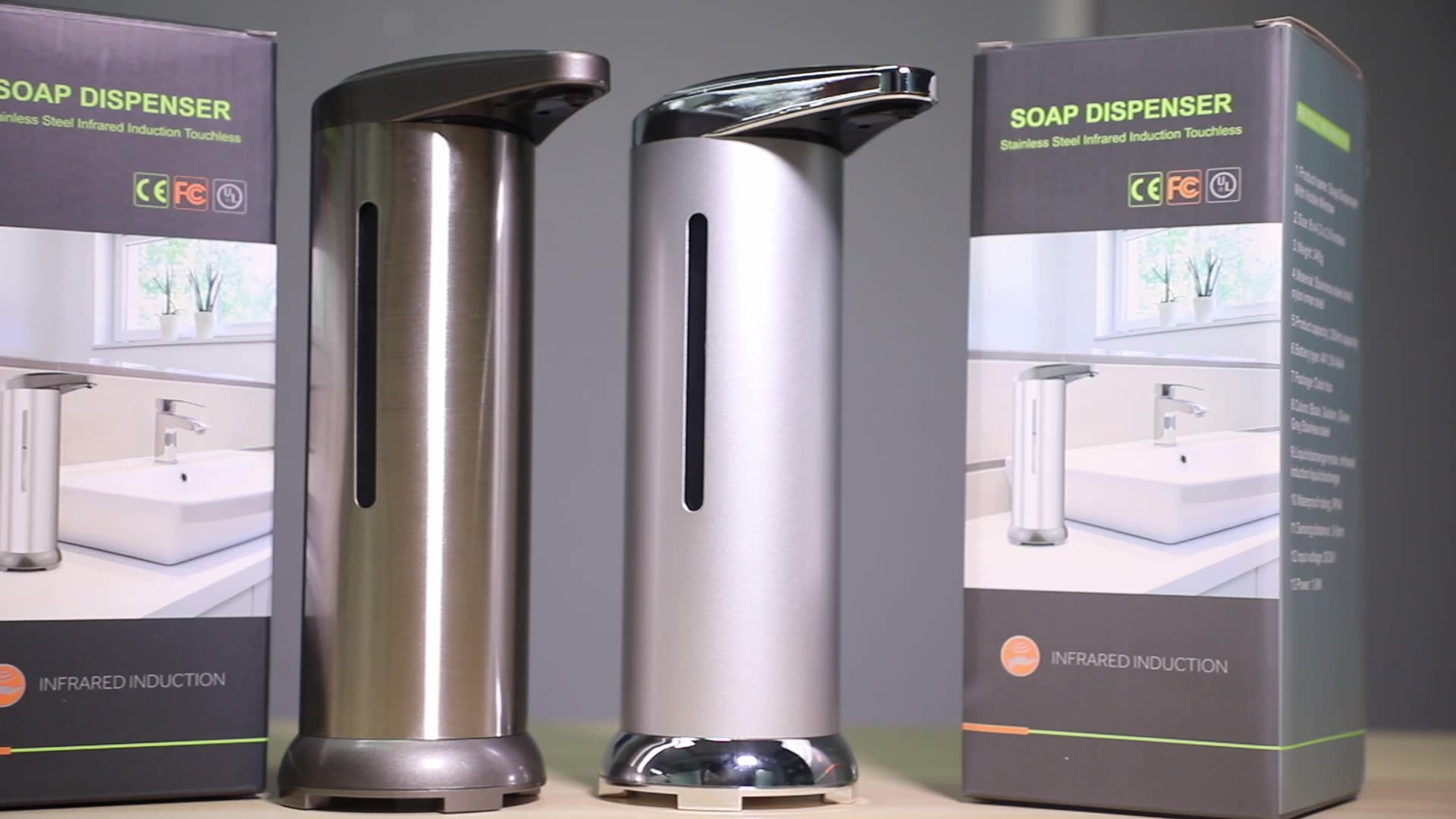 2020 Touchless Sensor Automatic Liquid Foam Soap Dispenser  Hand Sanitizer Dispenser for Hotel Home
