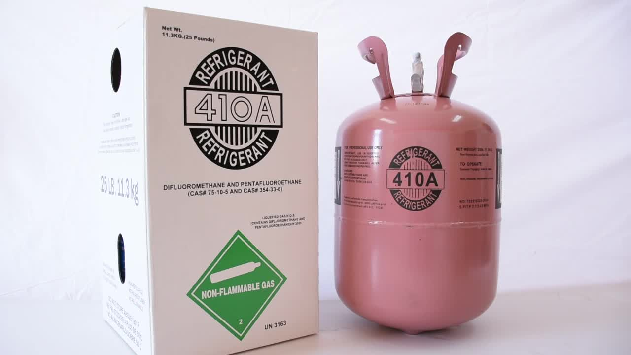 R410A refrigerant for sale in Ningbo China