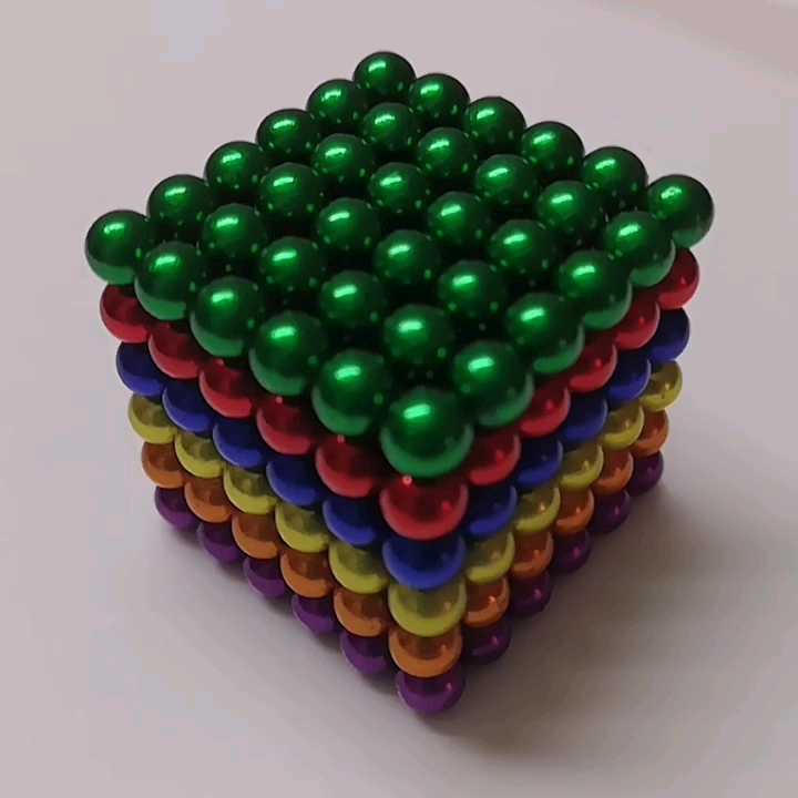 Neodymium แม่เหล็กของเล่นลูกบอล 5 มม.