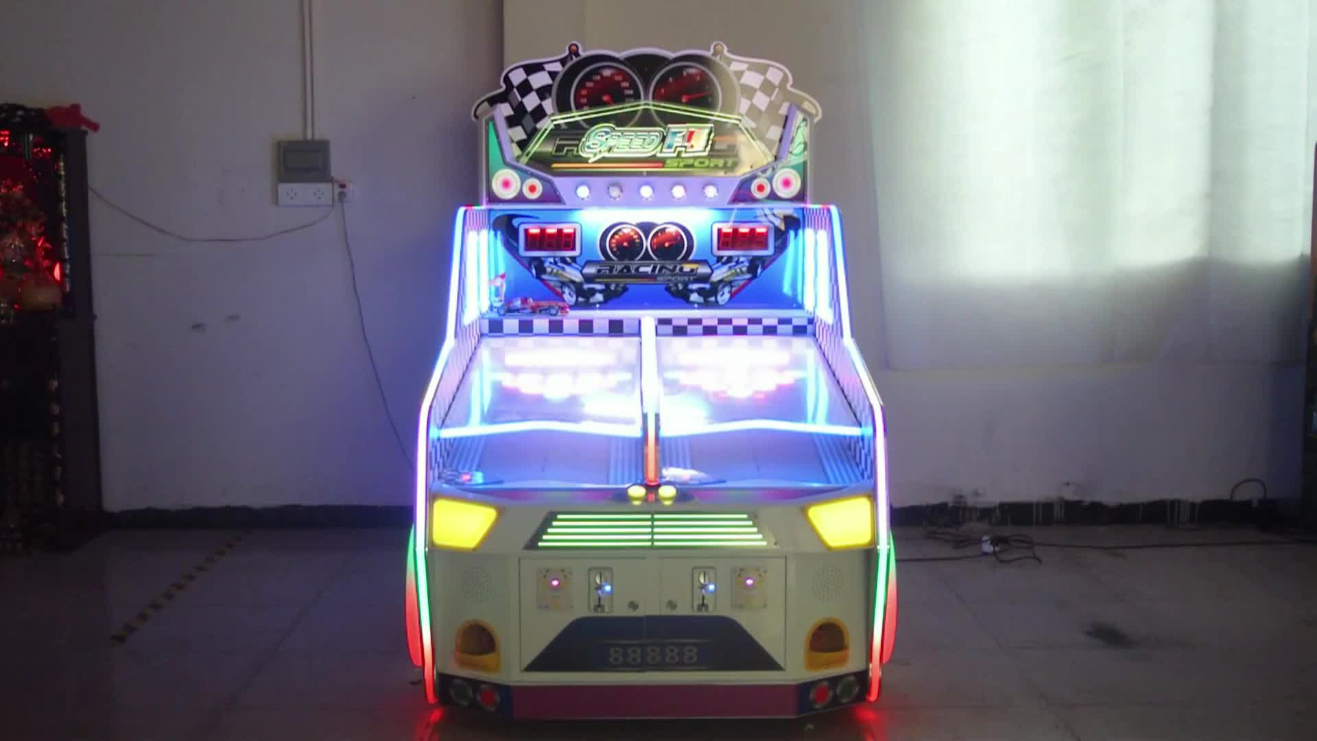 Funpark 2018 new design arcade game machine F1 racing for kids