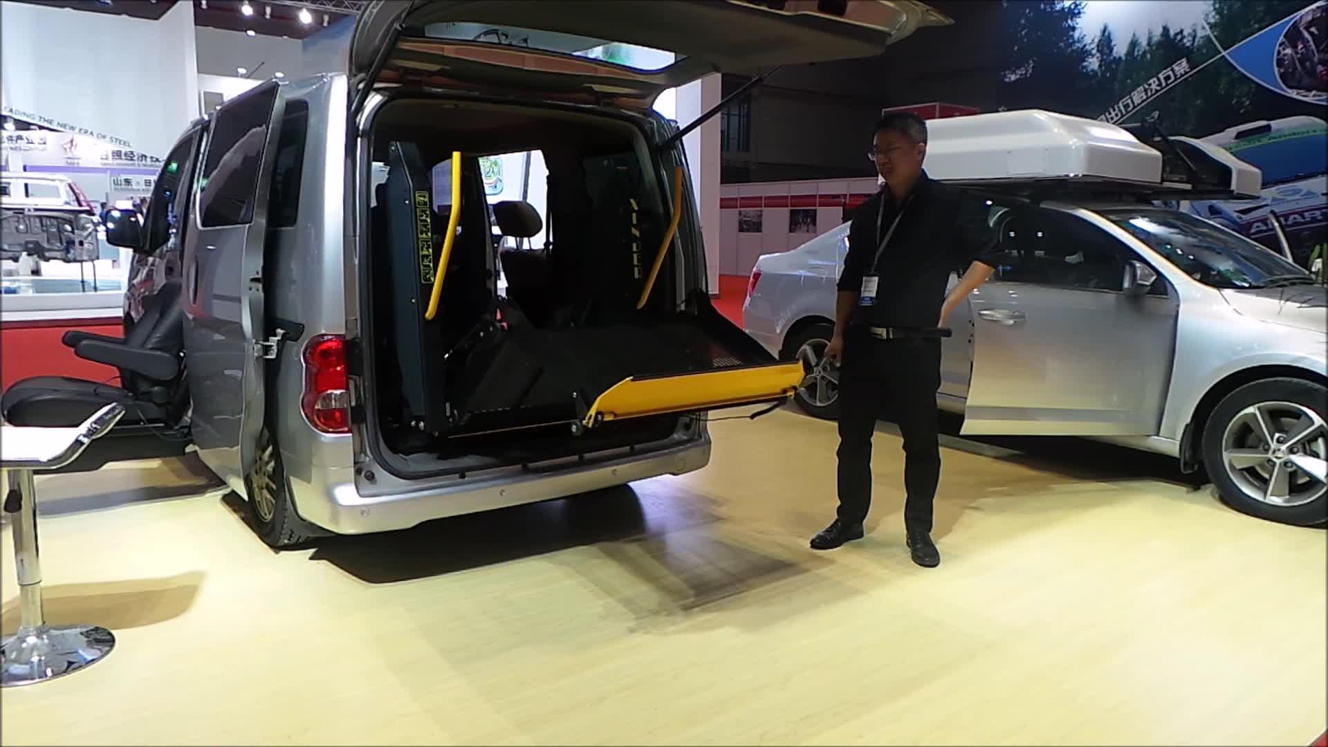 WL-D-880U Dual Arm Electric Wheelchair Lift for Van and Minivan