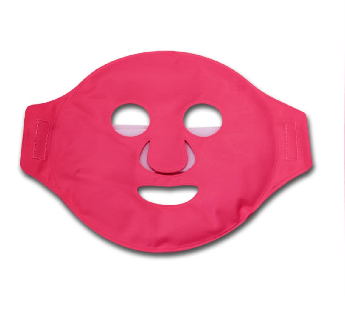 Custom gel kraal gezichtsmasker ijs pack warm en koud gezicht gezichtsmasker