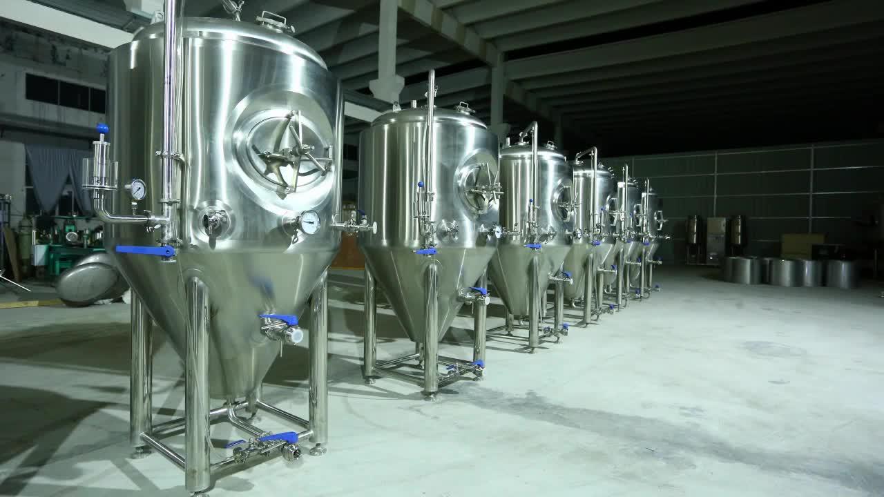Runyin China Fabrikant Automatische Brouwerij Apparatuur Bier Brouwen
