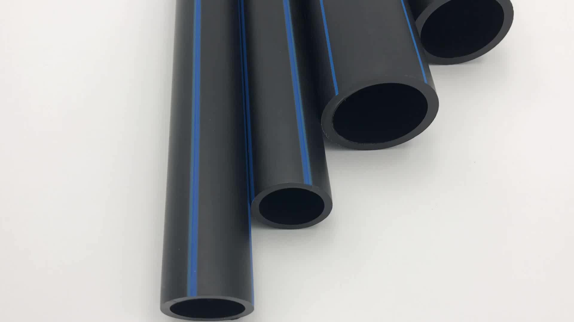 Dn20-Dn110 high-performance large diameter Irrigation Hdpe Price List Black Plastic Water Pipe Roll