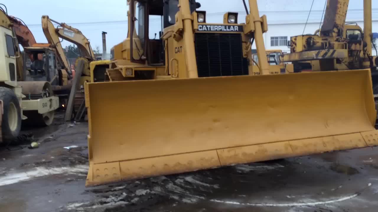 Se D7H Bulldozer para venta después de servicio de ventas se
