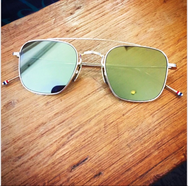 c9d66b445d1 Japan Purchasing Thom Browne TBS90 7 sunglasses sunglasses titanium alloy  made in Japan