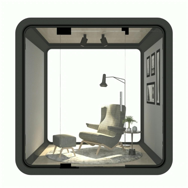 Varanda de alumínio indoor casa pré-fabricada casa pequenas casas pré-fabricadas casas de madeira de luz móvel