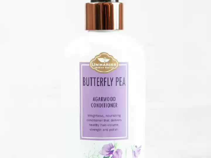 Ummariss Butterfly pea natural  Herbal Hair Shampoo and Conditioner