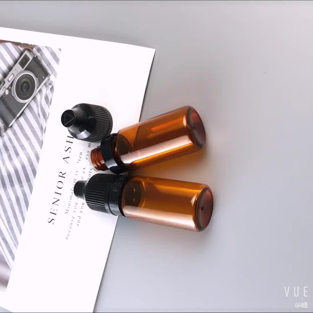 Vide e liquide squeeze bouteille opaque en plastique compte-gouttes bouteilles