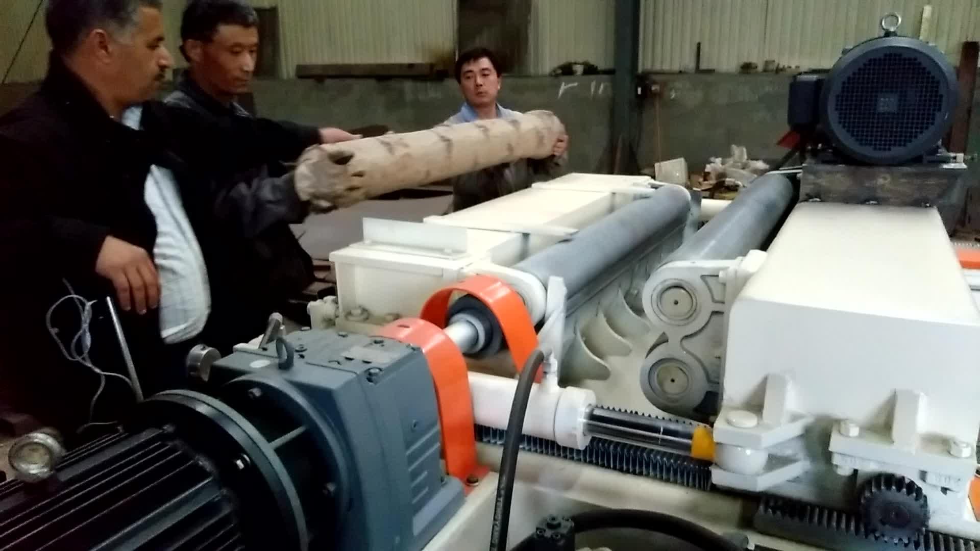 4ft log debarker/legno compensato macchina