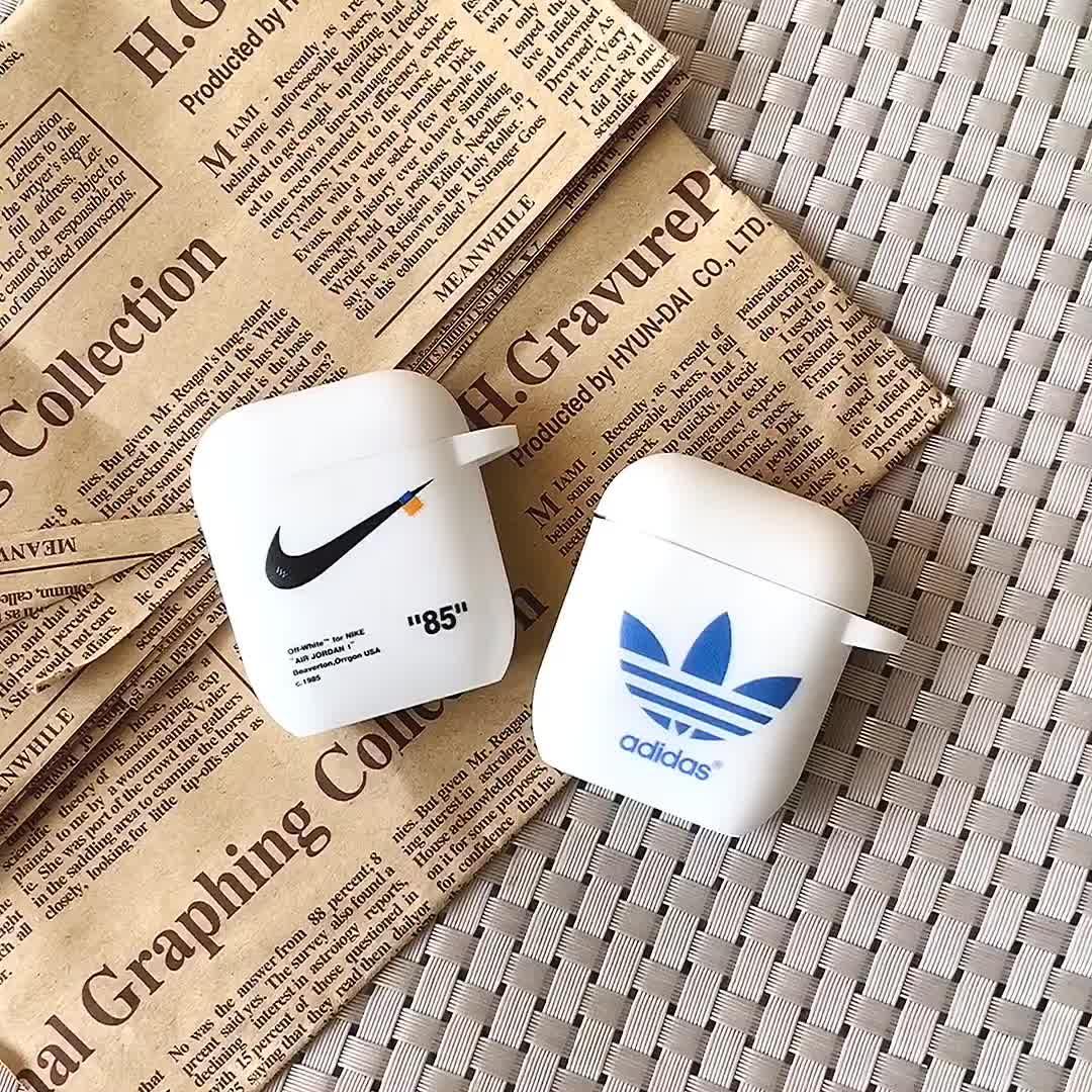 רך נרתיקי אוזניות עבור אפל airpods 2 מקרה עבור airpods כיסוי אופנה לבן מקרה אוזניות כיסוי עבור אפל airpod סיליקון מקרה