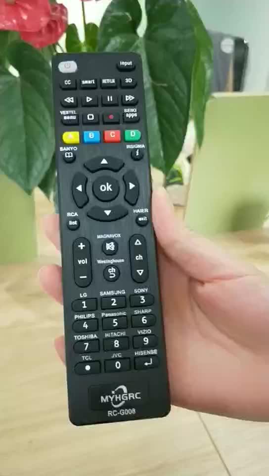 Vervanging universele afstandsbediening voor alle smart TV