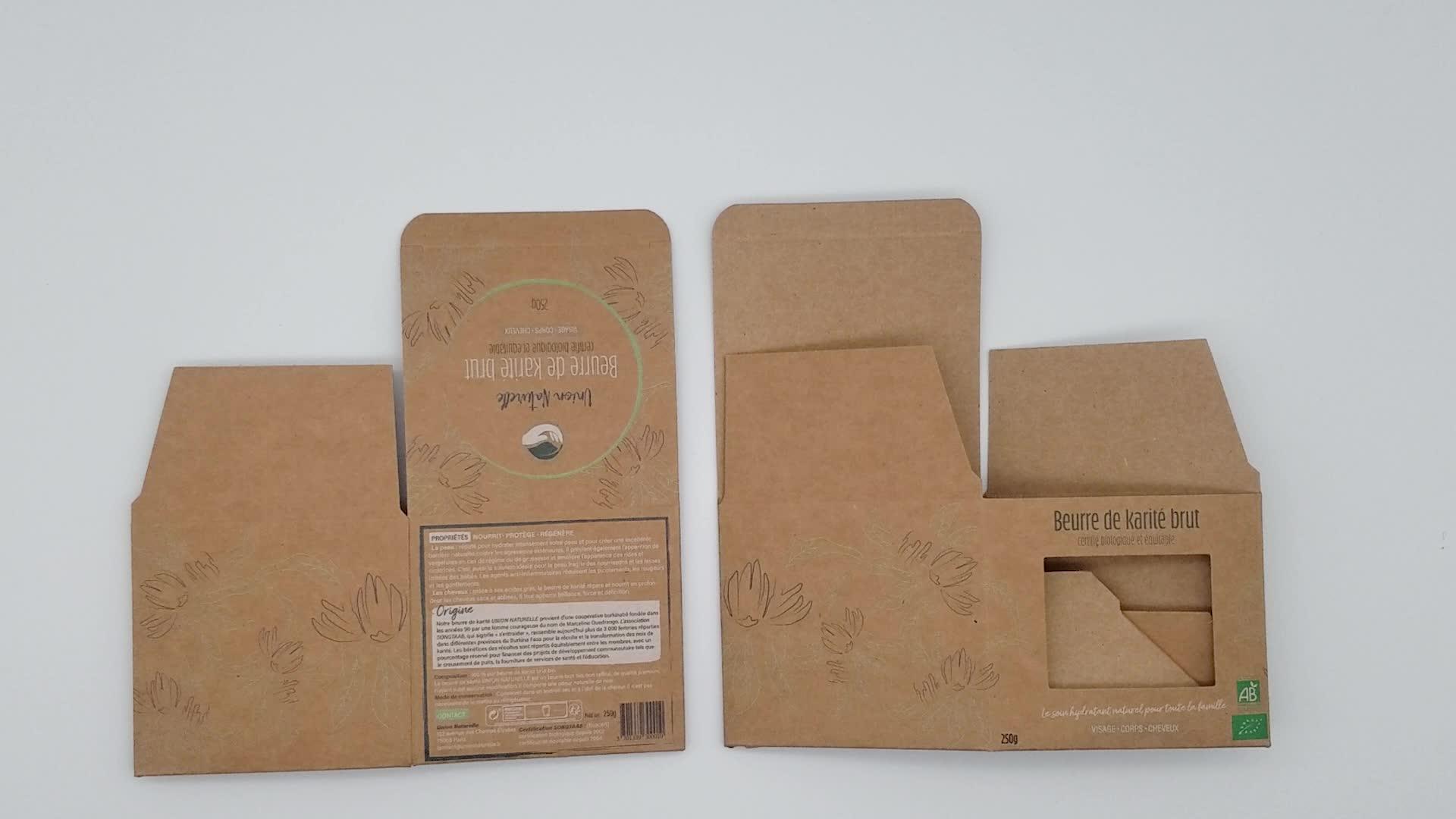 5% rabatt Nach Wenig Kraft Papier Box Mit Fenster Deckel