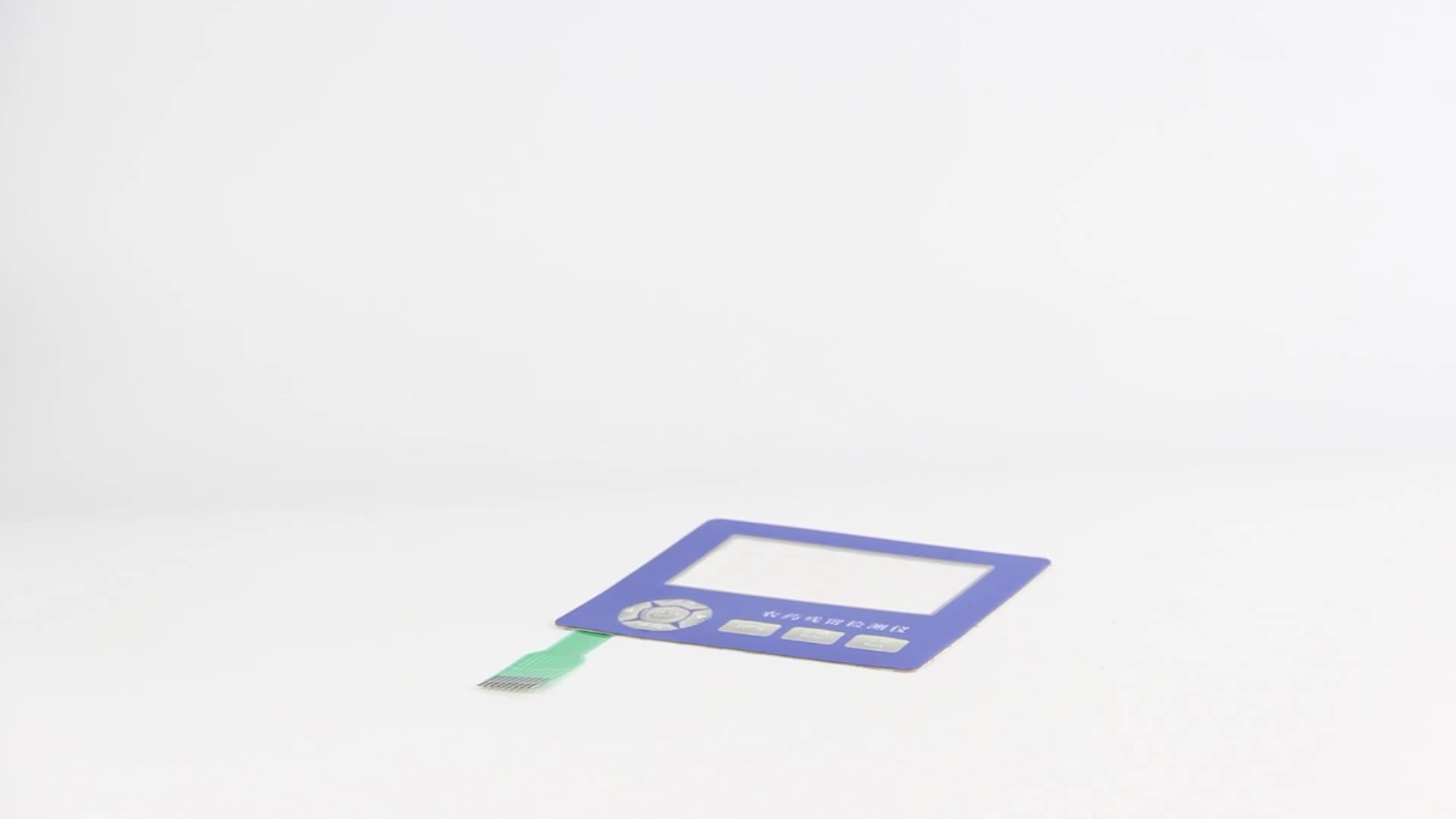 Led Membrane Switch Car Flexible Custom Control Panel