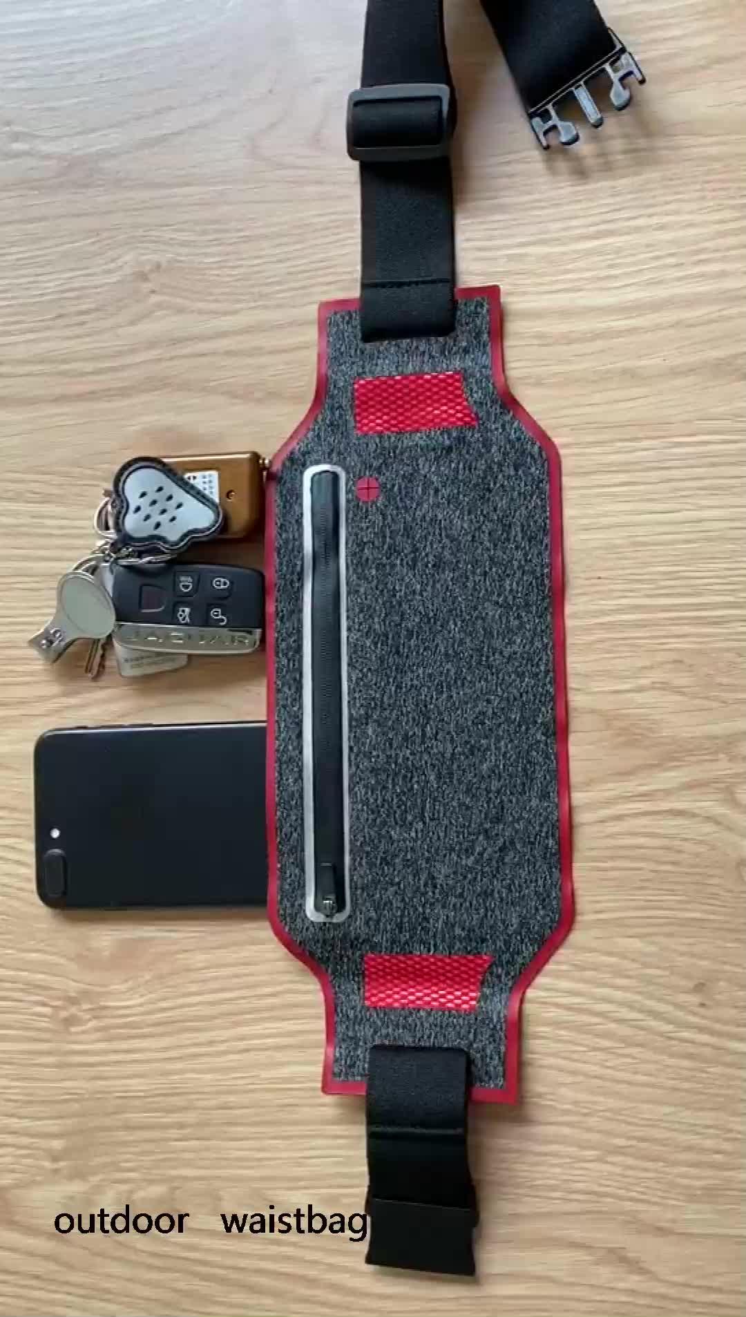 in stock waterproof waist  bags,running sport outdoor pocket for phone fashion custom letters belt bags ,wholesale Waist Belt