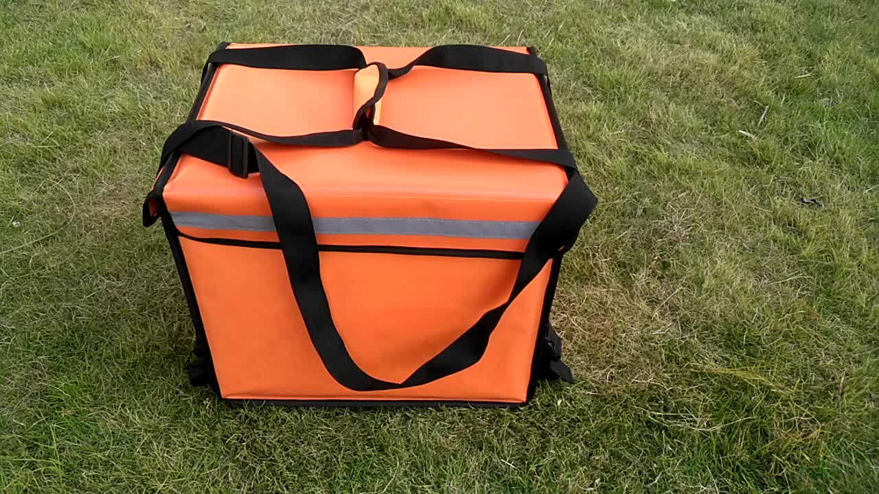 1PCS MOQ 48L hot cold waterproof insulated food delivery cooler cooler bag