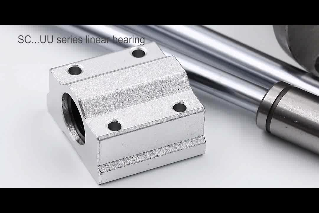 Tbrc16-1000mm Linear Slide Guide Rail Shaft  Tbr16uu Bearing Block