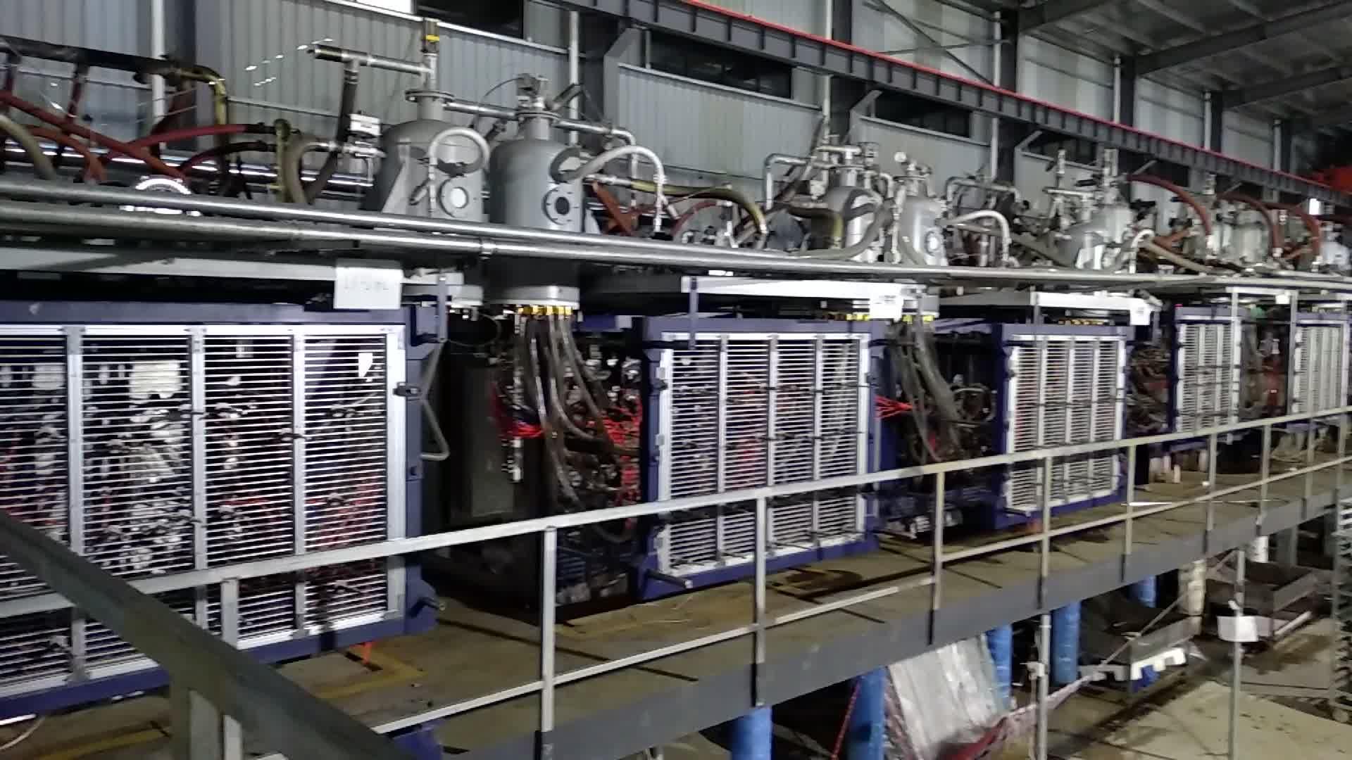 Strafor kutuları için Hangzhou Otomatik EPS Şekil Kalıplama Makinesi