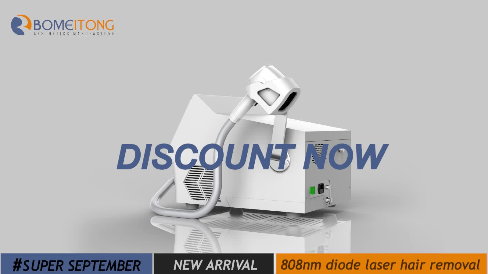 808nm Permanent professional diode laser hair removal machine 2019