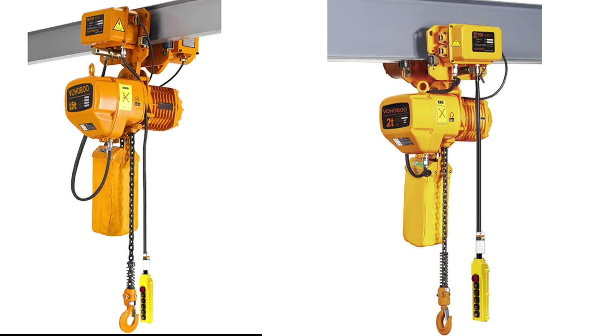 HHBB électrique grue de levage harga 1ton 2ton 3ton 5ton 10 tonnes 15 tonnes en stock
