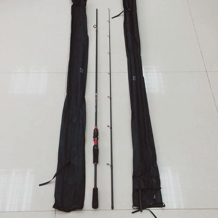 1.65 メートル 1.8 メートル 2.1 メートル 2.4 メートル 2.7 メートル 5.4ft 6ft 7ft 8ft 9ft M 調性カーボン魚ロッドスピン鋳造ハンドル伸縮式ロッド釣竿