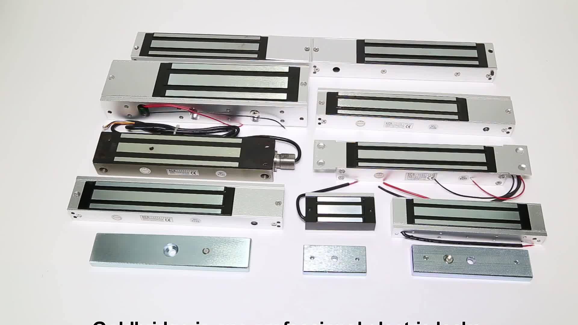60KG Serratura Elettrica Serratura Magnetica della Porta Fail Sicuro di Induzione Magnetica Serratura Della Porta DC 12V