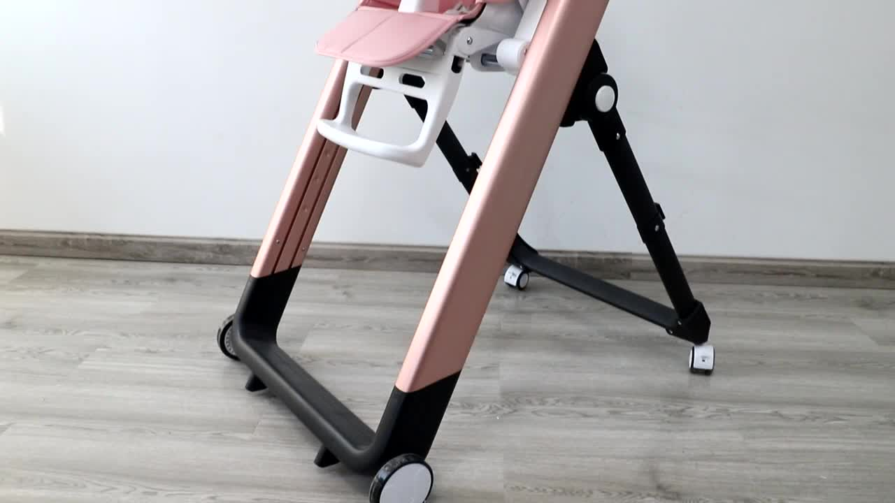 Manufacturer Luxury Aluminium Good Quality Baby High Chair Baby Seat Chair