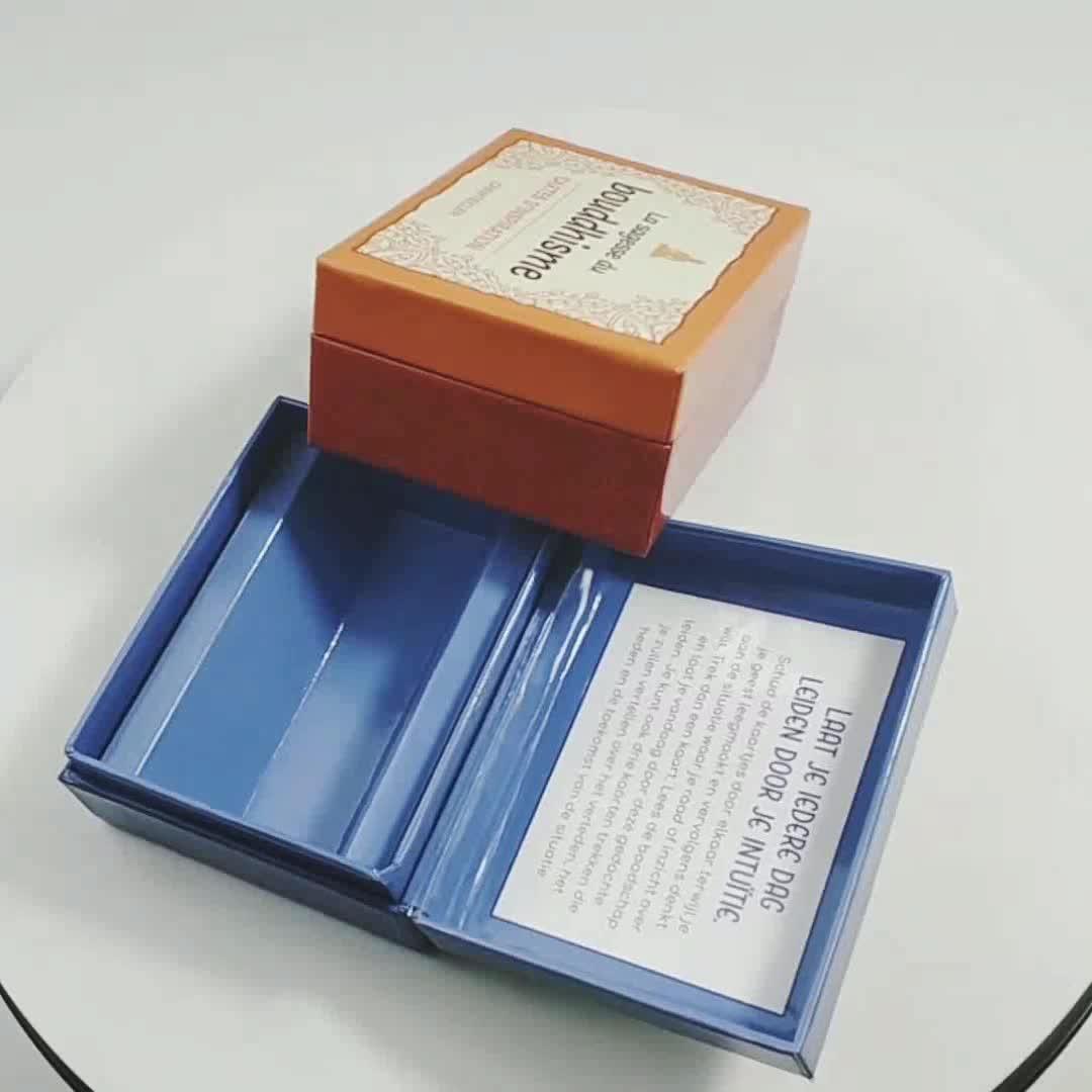OEM ออกแบบแหวนต่างหูบรรจุภัณฑ์โลโก้ที่กำหนดเองพรีเมี่ยมเครื่องประดับกล่องโฟม