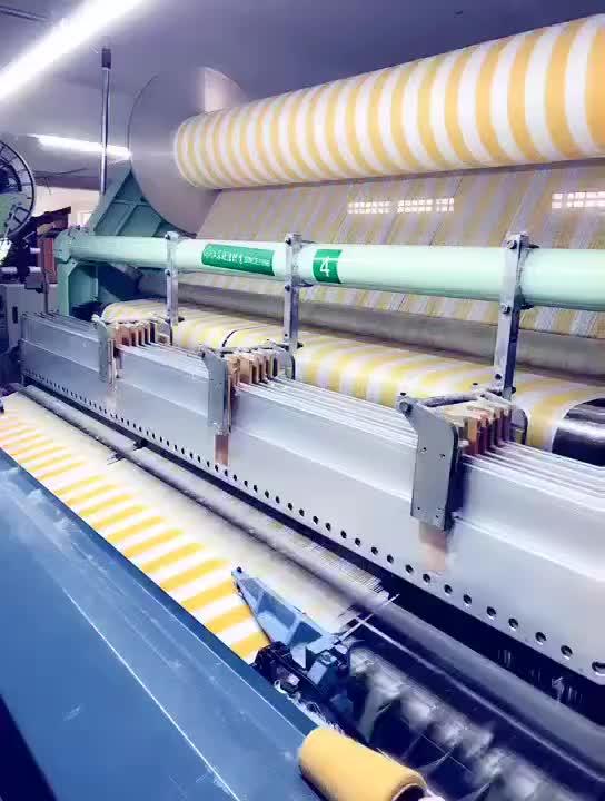 Grosir 100% Katun Linen Dicetak Putih Teh Handuk Pola Kustom