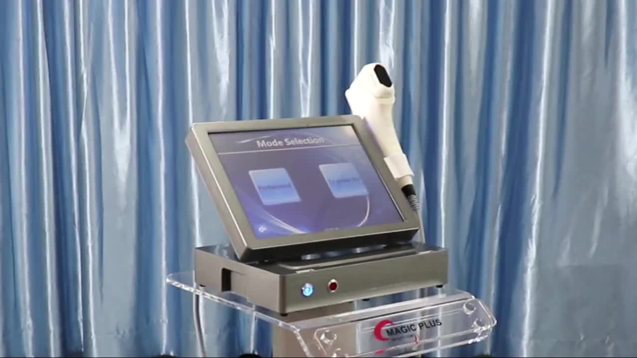 American 4d Vaginal Hifu Machine / 3d Hifu Vagina Treatment Machine for Neck Tightening