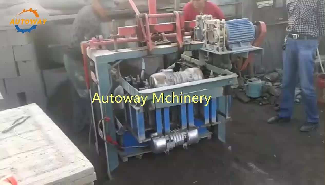Aerated Concrete Block Making Machine  Brick Compression Machine  Block Molding Machine