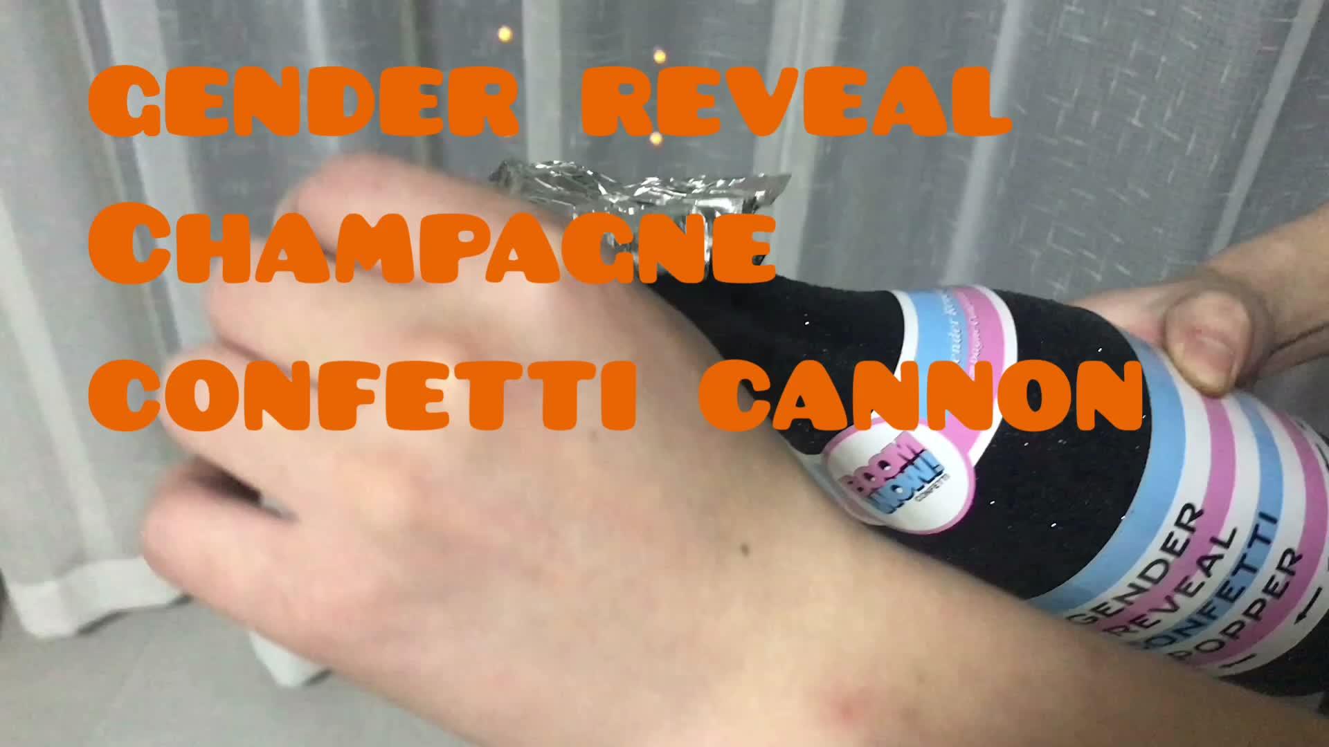 Boomwow Champagner Party Popper Kanone Gefüllt mit Folie Streamer Indoor Outdoor Verwenden