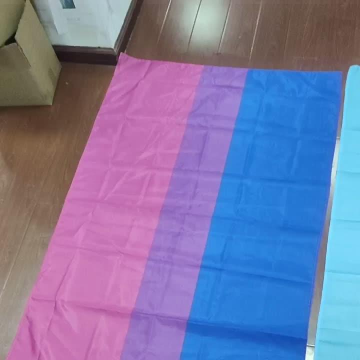 Оптовая продажа с фабрики, 90*150 см нетрадиционной 3 * 5ft полиэстеровый Печатный Радужный Флаг Ткань