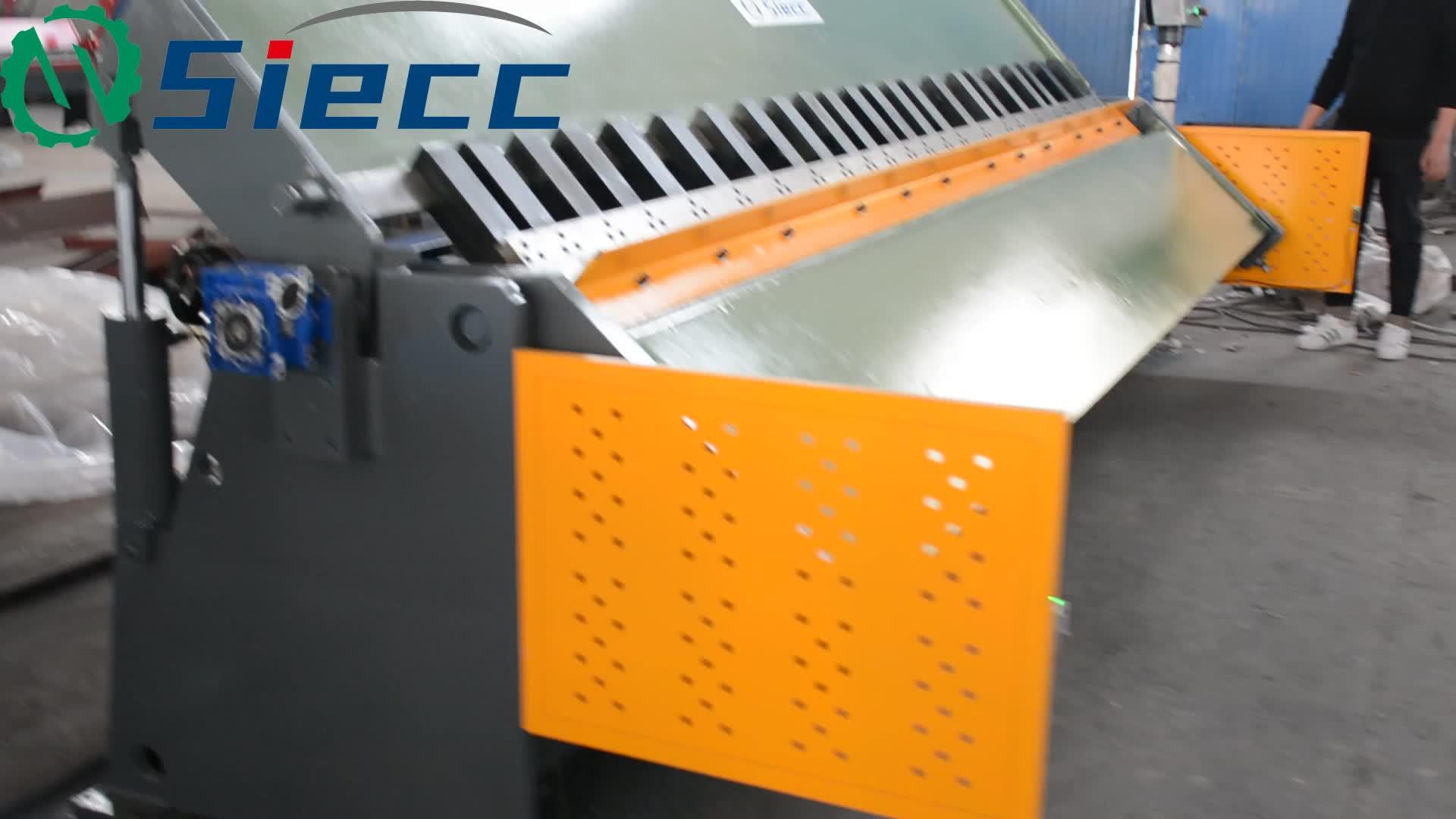 Ad alta Velocità CNC Lamiera di Acciaio Pieghevole Macchine Lavorazione Del Pezzo di Lamiera Pieghevole Macchina