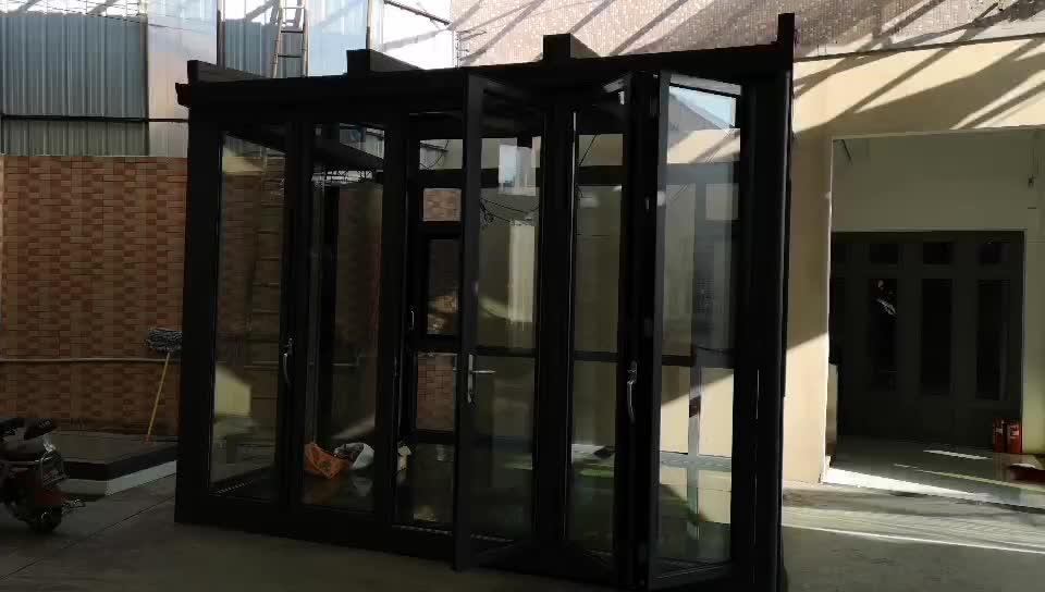 Prefabricated Aluminum Glass House Veranda Sunroom and Winter Garden