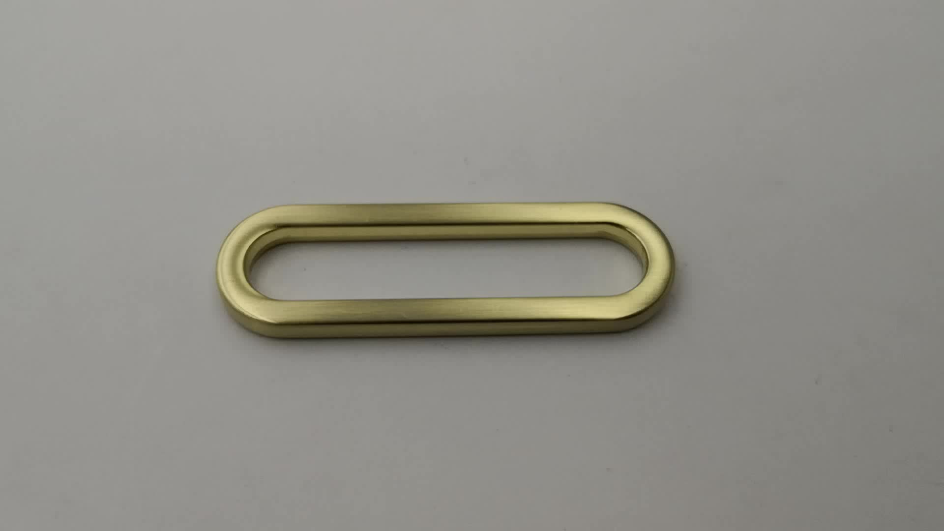 50mm big size handbag accessories metal oval ring for bag fittings