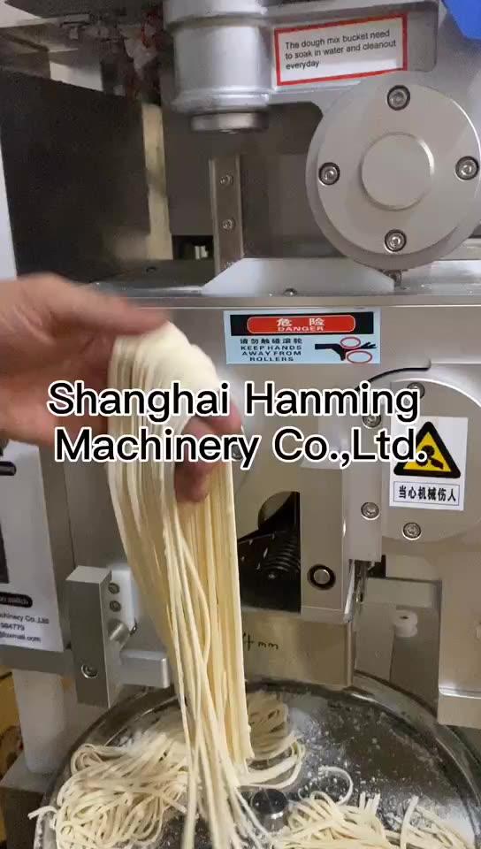 One button start noodle press extruder cutter noodle making machine