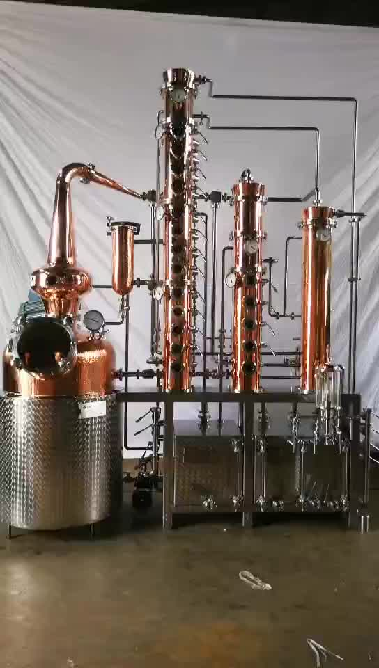 300l industrial alcohol distillation equipment