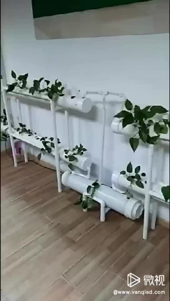Commercial Indoor Greenhouse Farm Lettuce NFT Hydroponics Cultivation Grow System Kit Tubes Pvc Square Hydroponics Pipe