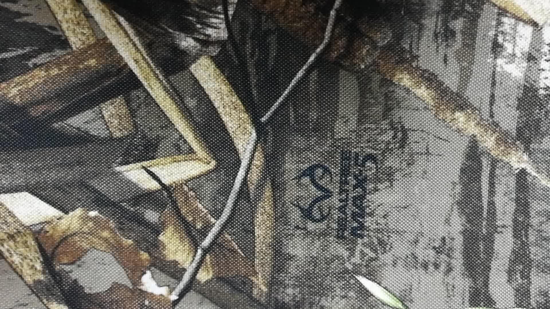 ポリエステルオックスフォード迷彩生地 realtree Max5 水鳥迷彩狩猟生地