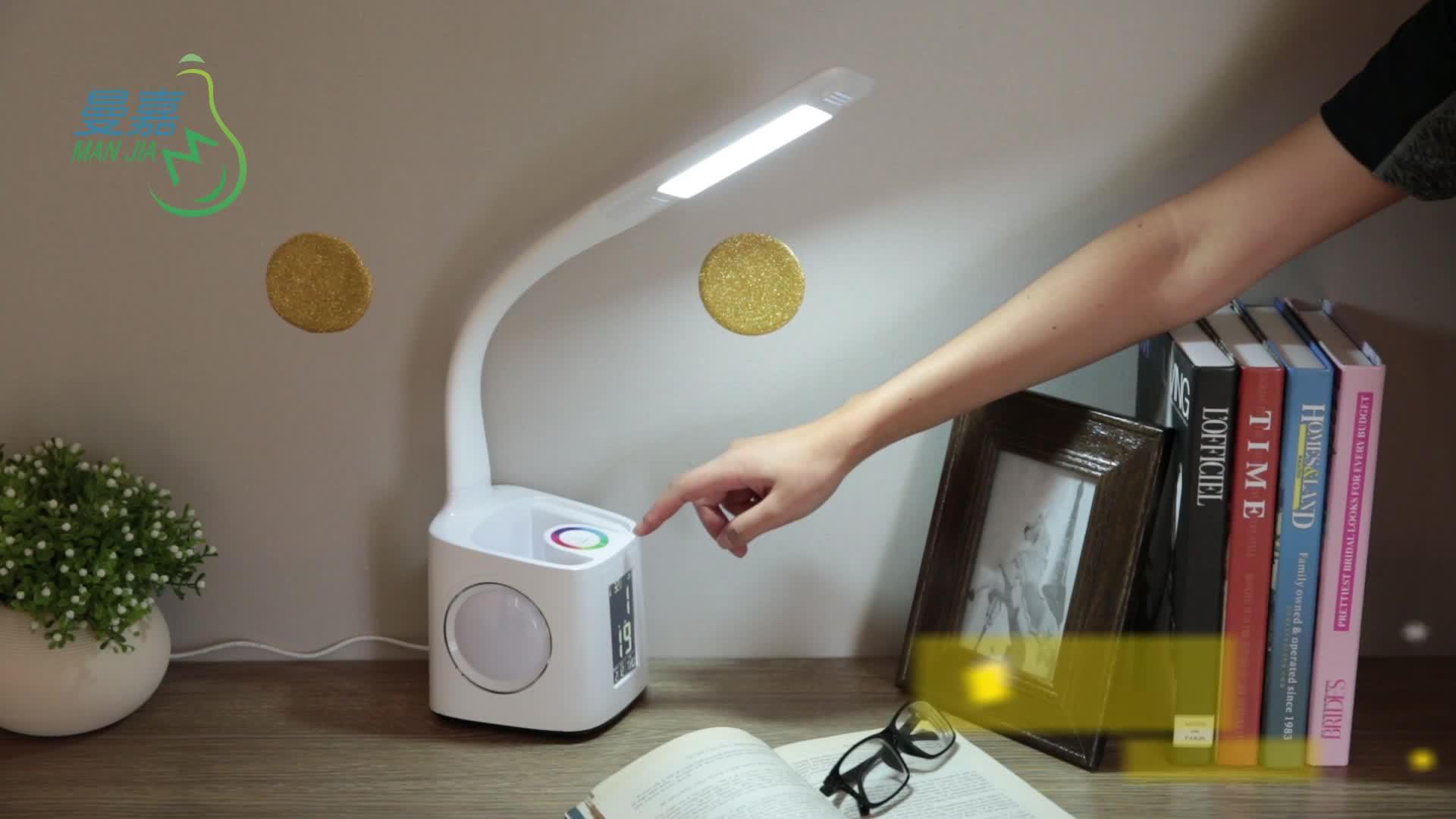 Amazon Лидер продаж зарядка через usb touch управление Гибкие Дети исследование настольная лампа с ручкой Держатель