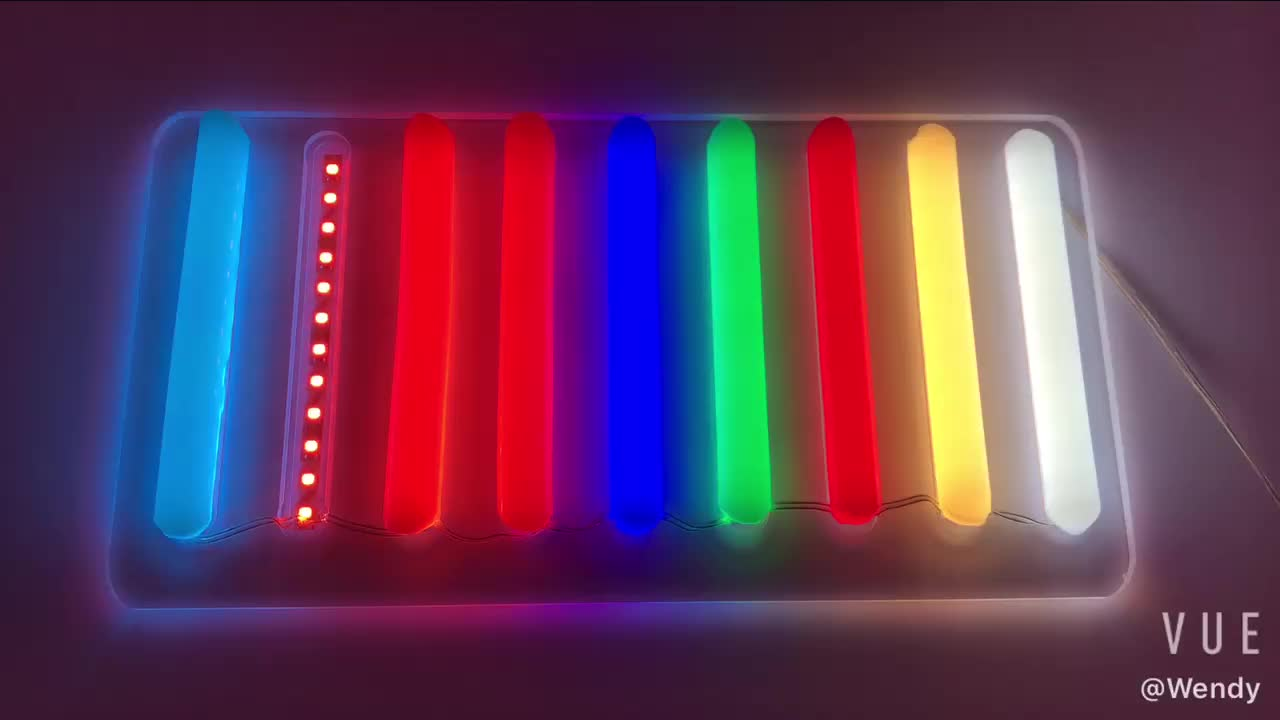 second generation silicone led neon  light guide tube