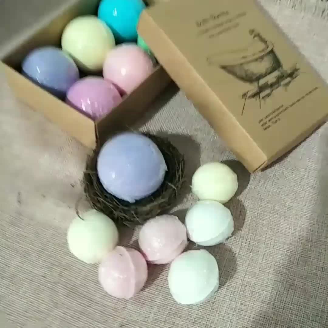 Wholesale Balls Colorful Natural Ingredients Custom soak foot spa bath bombs