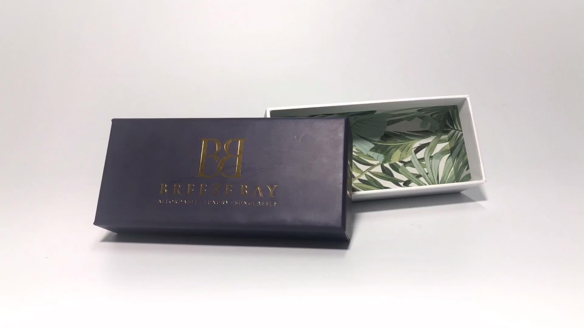 Luxury Design Cosmetic Packaging Make Up Rouge Gift Box Custom